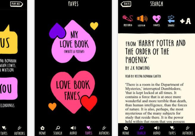 The Love Book App