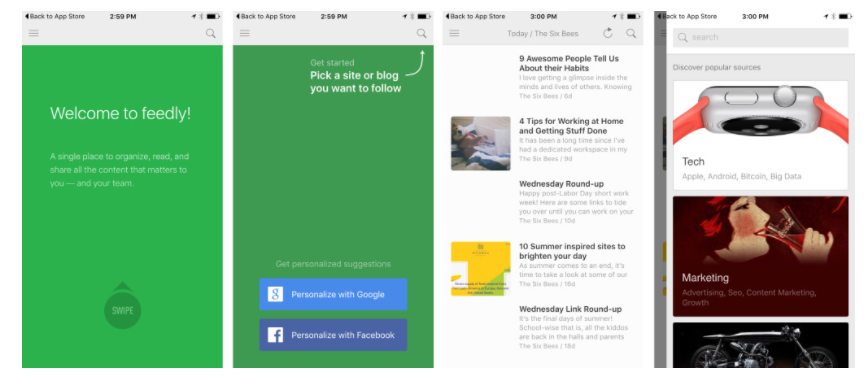 Feedly's Progressive Onboarding