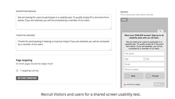 Usability tests