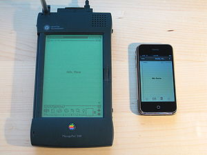 Apple Newton device