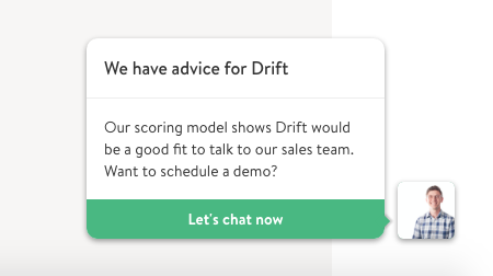 Live chat by Drift