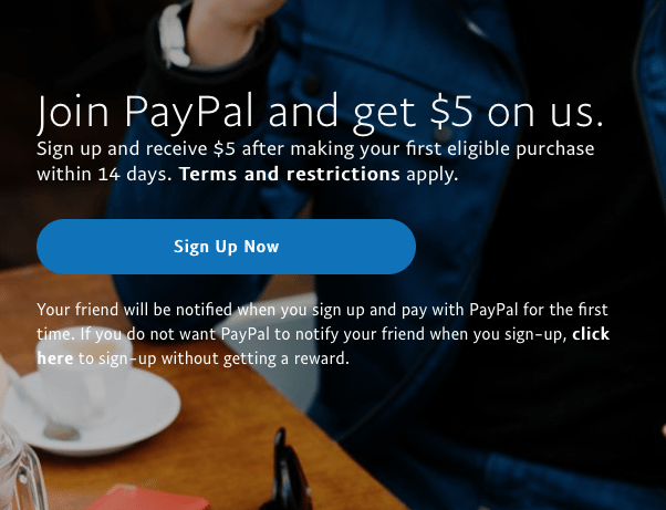 paypal referrals